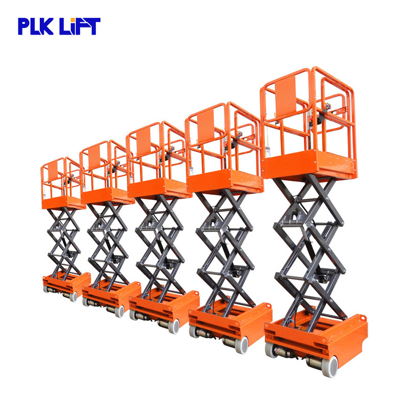 5m 6m Working Height Small Mobile Scisso...
