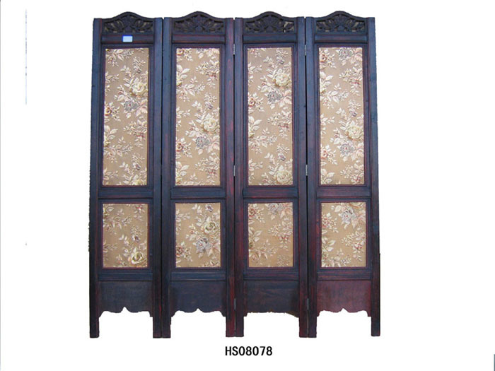 China Wooden Room Dividers HS08078 China Wooden Screen Wooden Furnitures