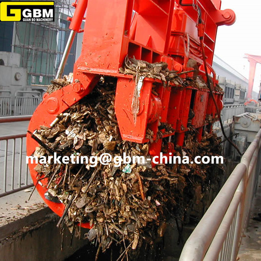 Electeo Hydraulic Waste Grab Special Used in Power Plant