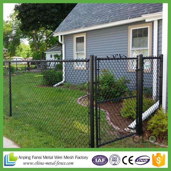 Garden Buildings Cheap Vinyl Coated Chain Link Fence