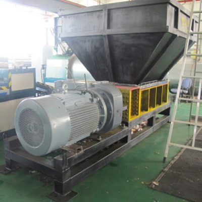 Double Shaft Wood Shredder Chipper