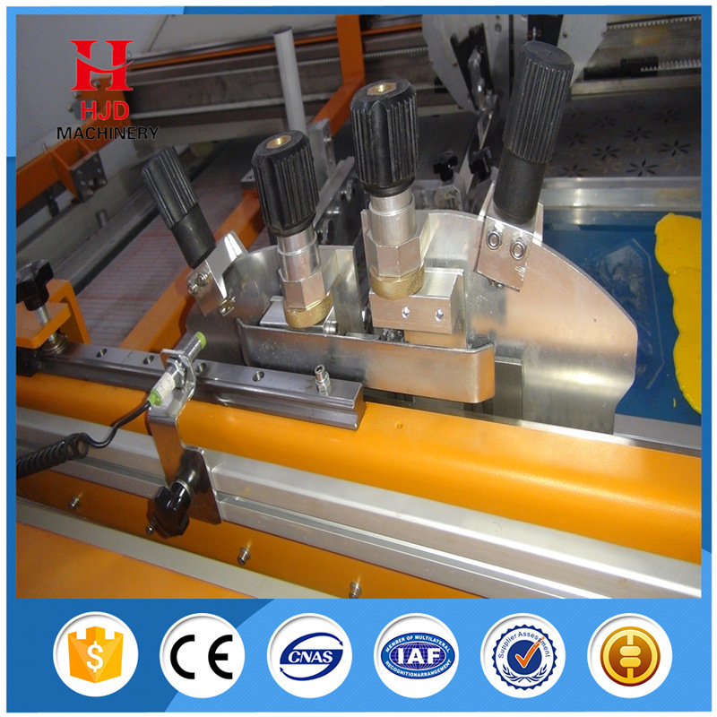 Flatbed Automatic Textile Screen Printing Machine for Clothing
