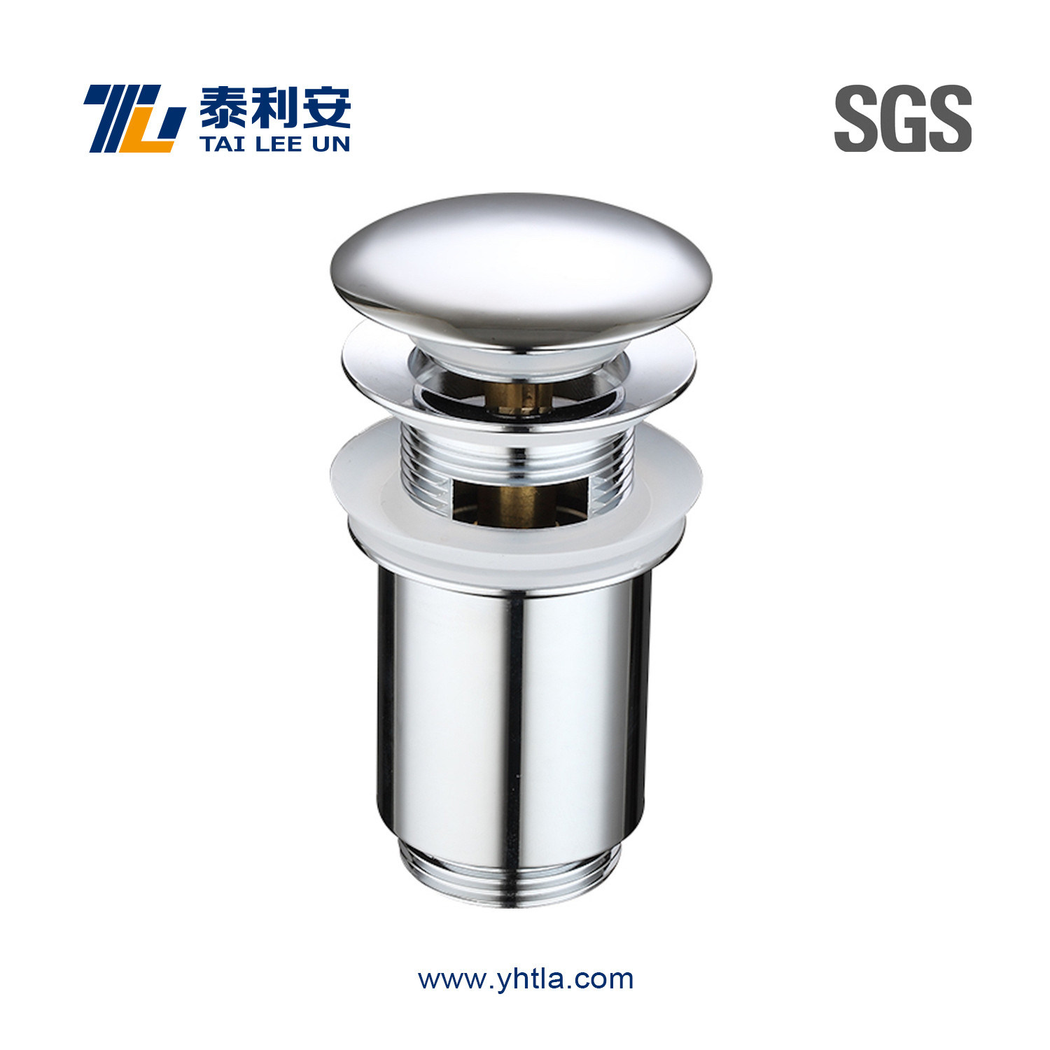 New Arrival Pop up Waste Coupling with Overflow (T1001)