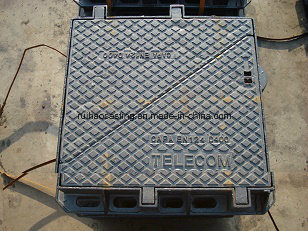 En124 D400double Triangle Manhole Cover for Telecom