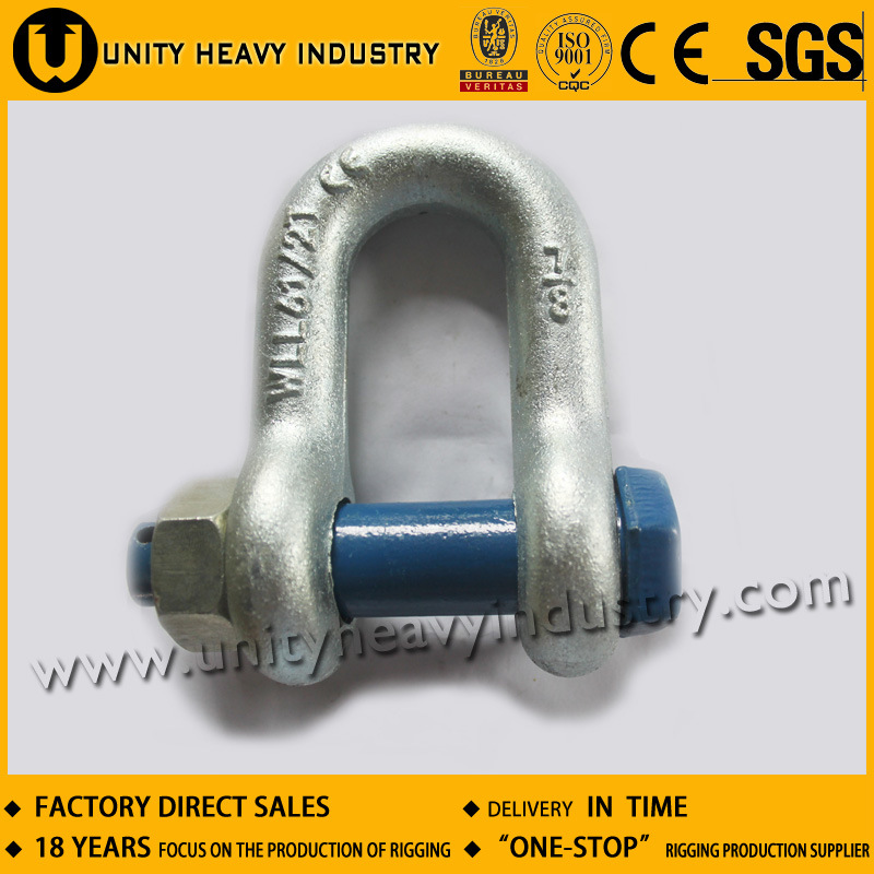 G 2150 U. S Type Bolt Safety Drop Forged Anchor Shackle