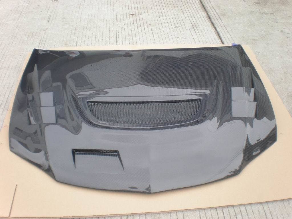 Carbon Fiber Hood Bonnet for Mitsubishi EVO 8th 9th