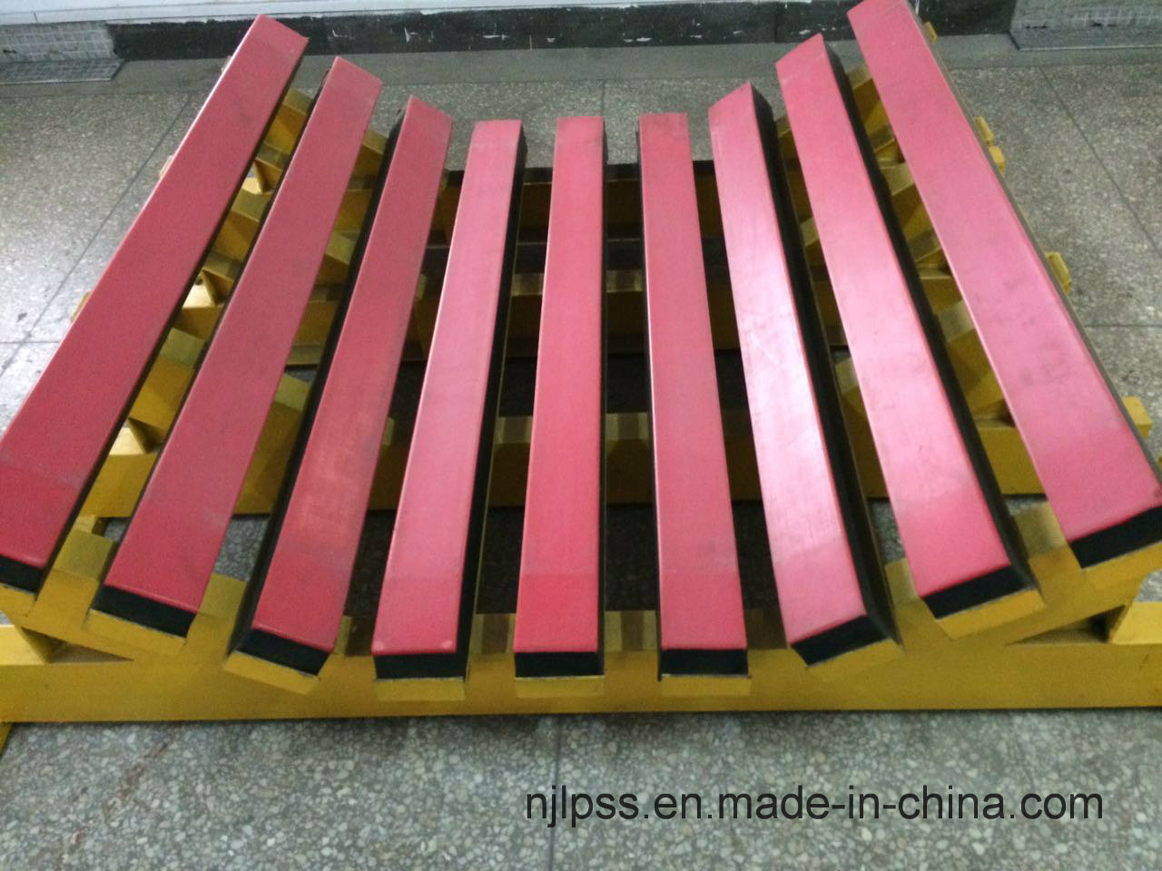 Heavy Type Buffer Bed for Belt Conveyor