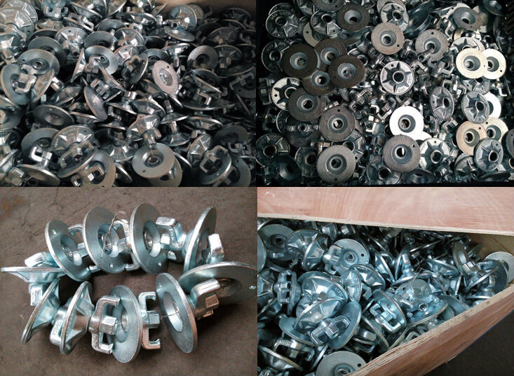 Scaffold Formwork Forged Tie Rod Wing Nut