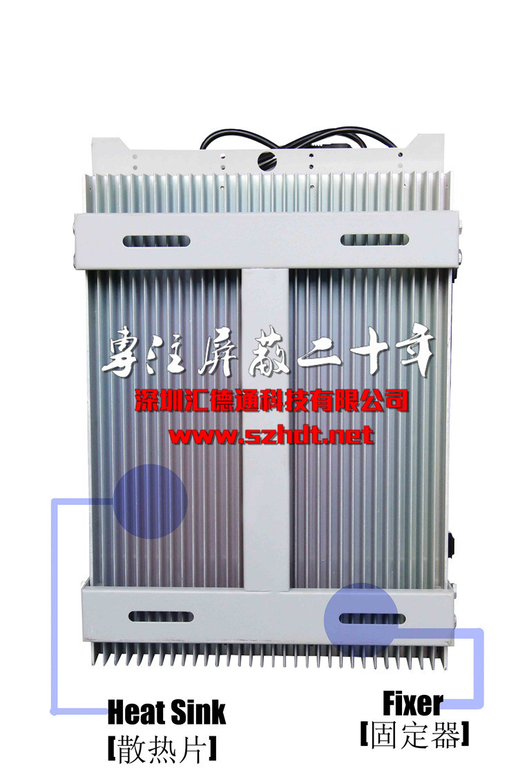 High Power 6-Channel Outdoor Cellular Cellphone 2g 3G 4G GSM CDMA Signal Jammer