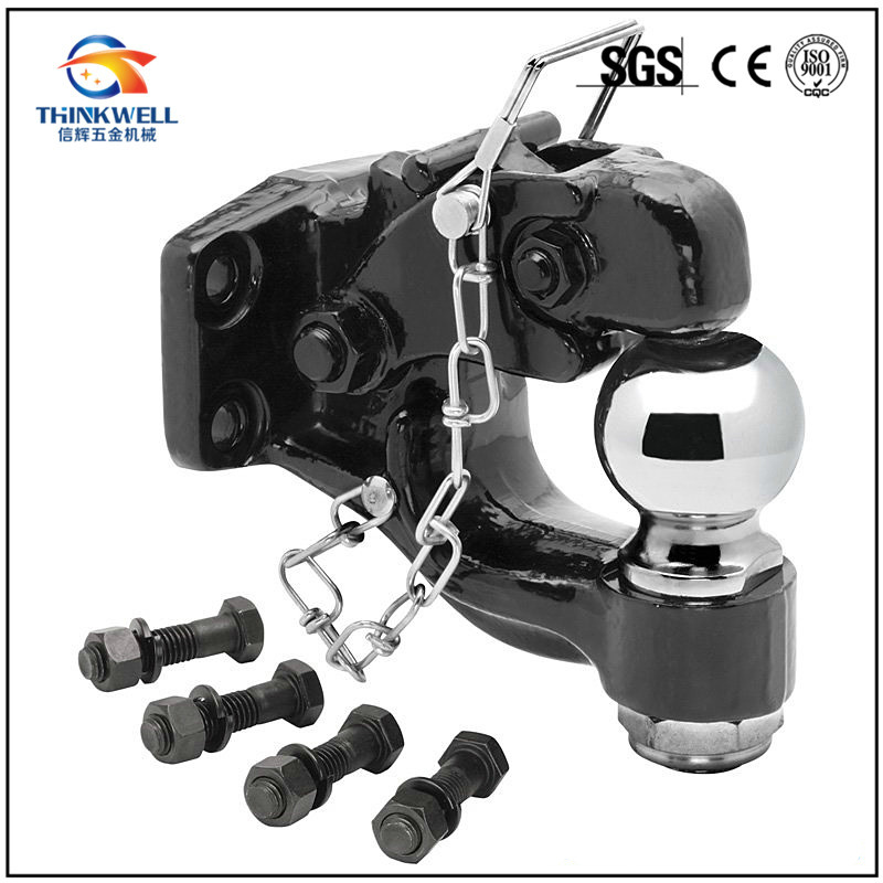 Drop Forged Trailer Hitch Towing Pintle Hook