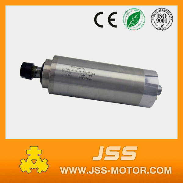 2.2kw 220V Water Cooling Spindle Motor for CNC Machine