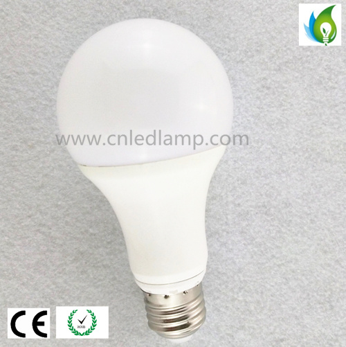 E27/E26 A67 18W LED Globe Bulb with White Aluminum Radiator and Milky PC Cover Dimmable and 2700k