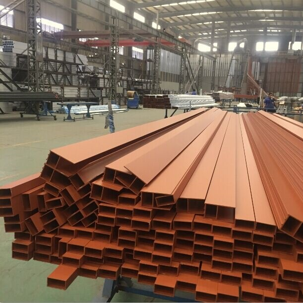 5500 Ust Aluminium Aluminum Construction Profile Extrusion Customized Sections