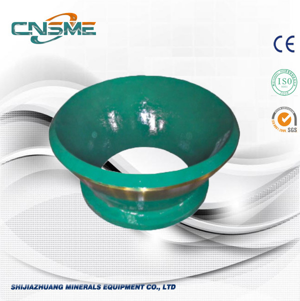 Cone Crusher Spare Parts of High Manganese Crusher Bowl Liner