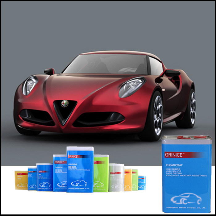 Car Paint Usage Fast Drying Clear Acrylic Varnish