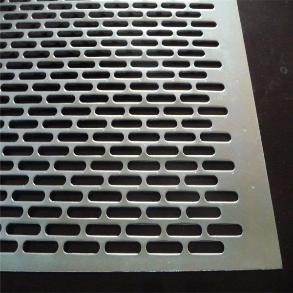 Galvanized Slotted Hole Perforated Sheet