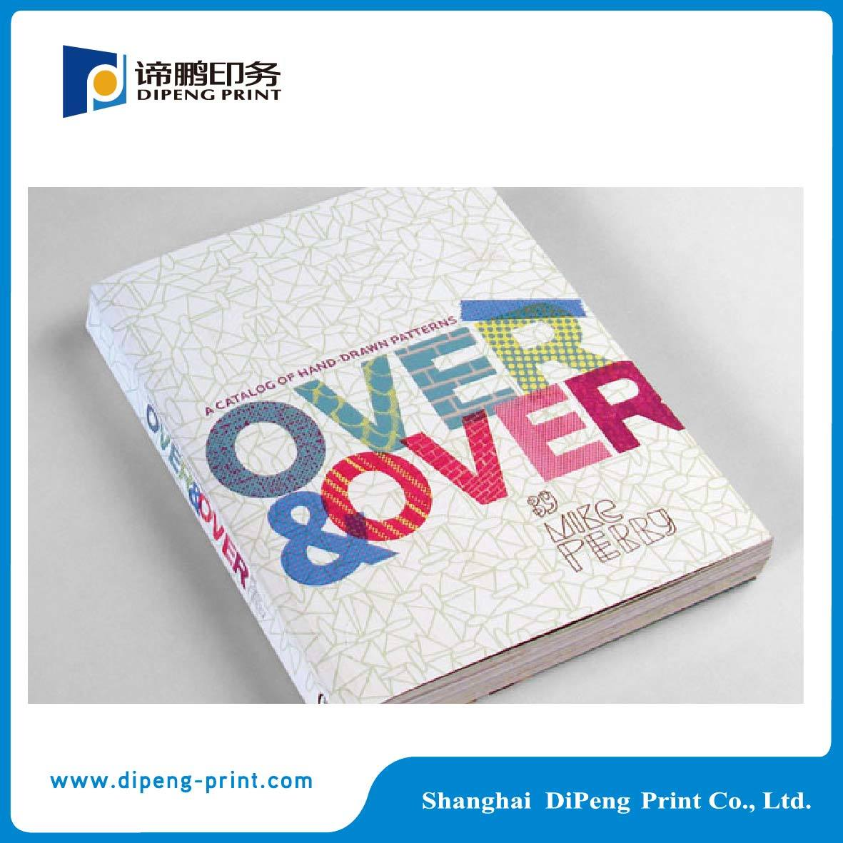Perfect Binding Four Color Printing Catalogue