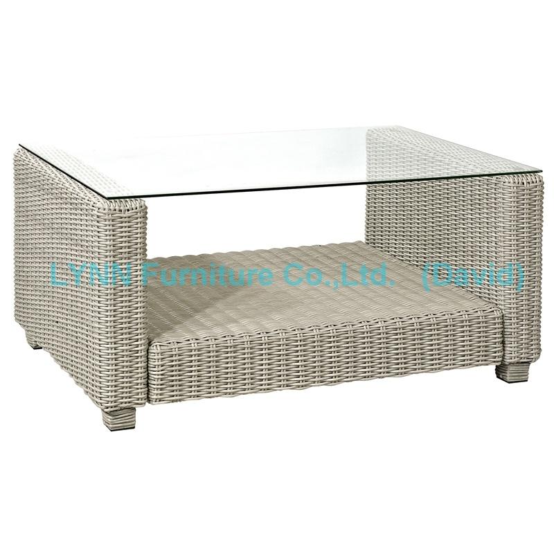 Rattan Coffee Table for Garden Sofa Set