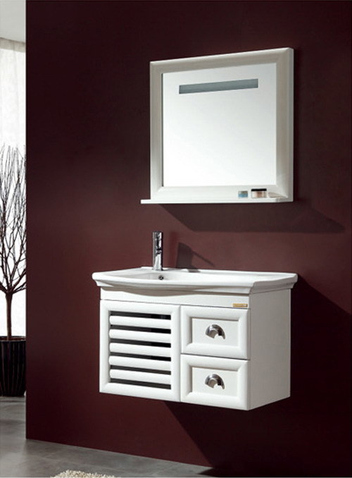 Solid Wood Bathroom Cabinet Ca-M126