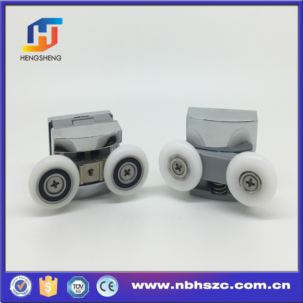 High Quality Heavy Duty Zinc Alloy Square Shower Roller