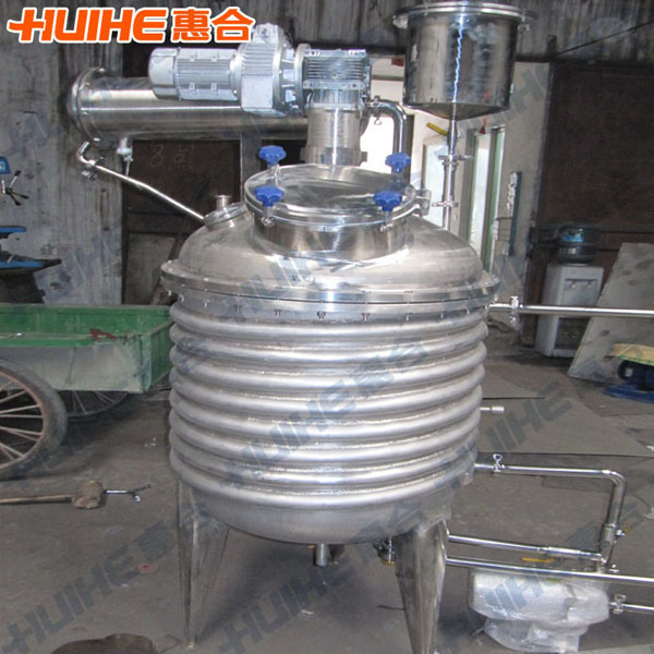 Stainless Steel Jacket Reactor for Sale