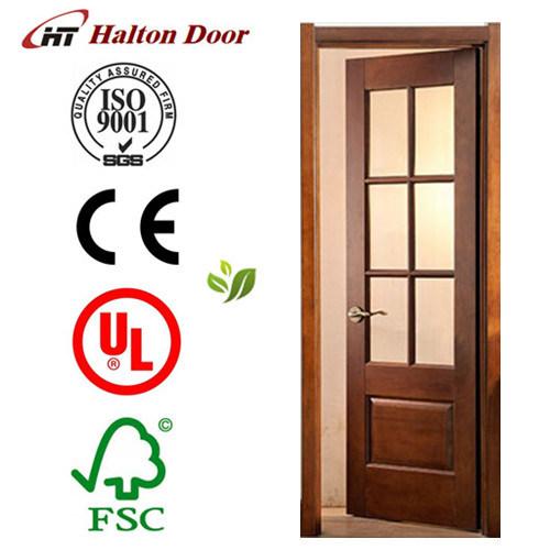 French Door/Solid Wood Timber Door/Timber Wooden Door/Mahogany Timber Door