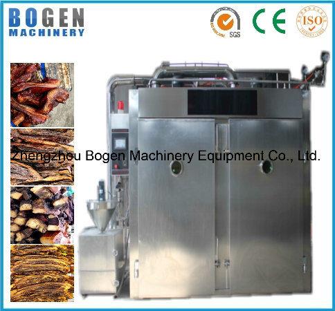 Fish Smoking Oven/ Bacon Smoked Furnace/ Meat Sausage Baking Machine