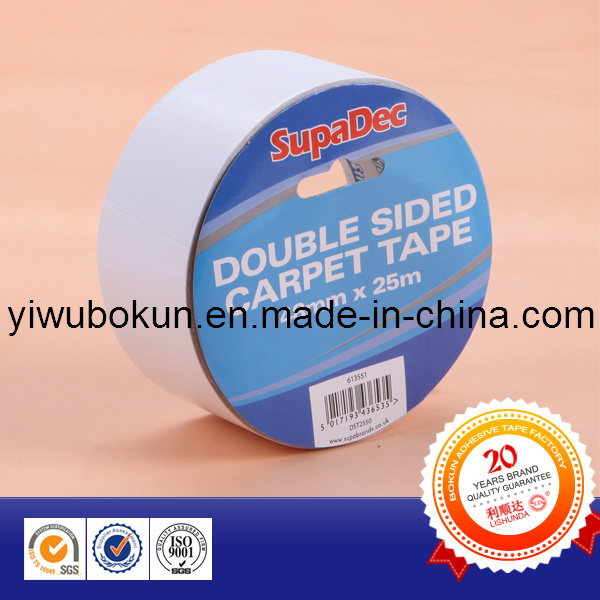 ISO SGS Certified Double Sided Transluscent Tapes (Tissue Carrier Coated With Acrylic Adhesive)