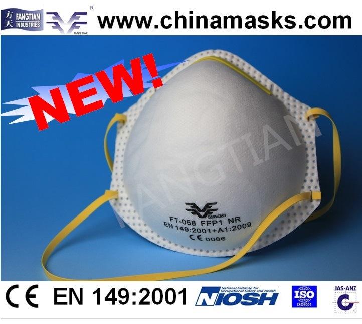 Dolomite Test Respirtor Safety Masks Dust Mask