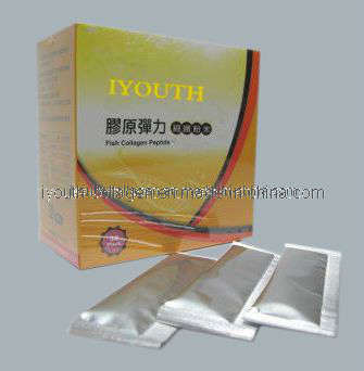 100% Natural Fish Collagen, Taiwan Golden Milkfish Collagen Peptide Powder
