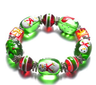 Christmas Jewelry/Christmas Bracelet/Christmas Snowman (XBL13135)