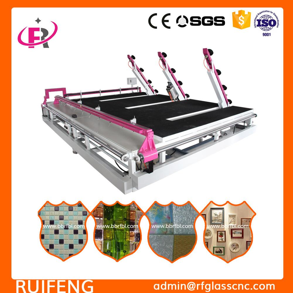 Glass Sand Blasting Assistant Automatic CNC Glass Cutting Machine (RF3826AIO-P)
