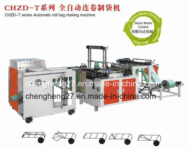 Chzd-T Automatic Rolling Bag Making Machine
