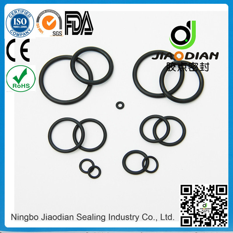 NBR O Ring of Size Range as 568, JIS2401 on Short Lead Time with SGS CE RoHS FDA Cetified (O-RINGS-0090)