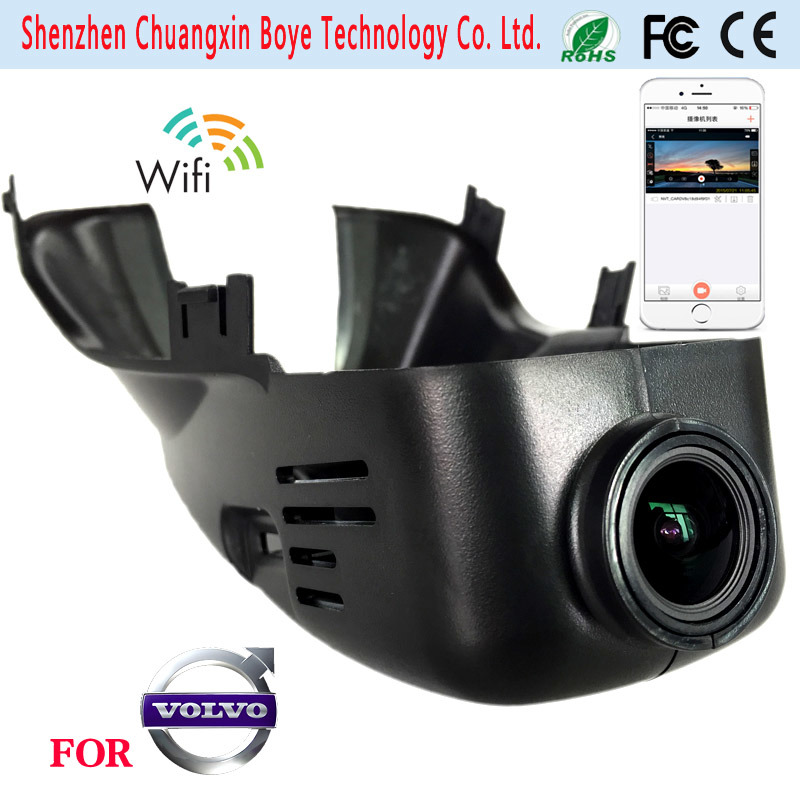 FHD Night Vision Car DVR Camera Special for Volvo by WiFi Controling