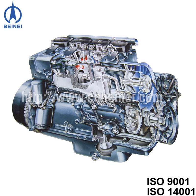 Air Cooled Diesel Engine F4l912 for Agricultural Machinery 14kw--141kw