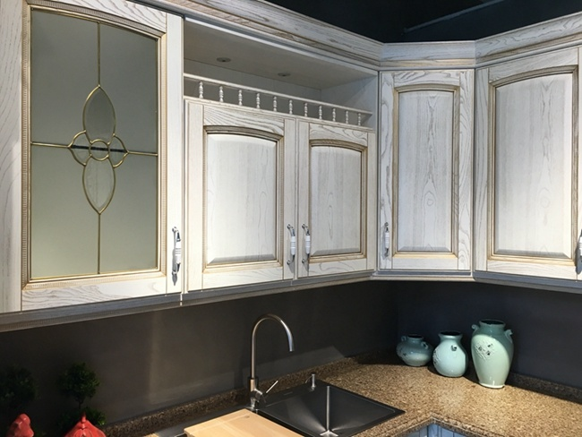 Classic Design Timber Wooden Kitchen Cabinet
