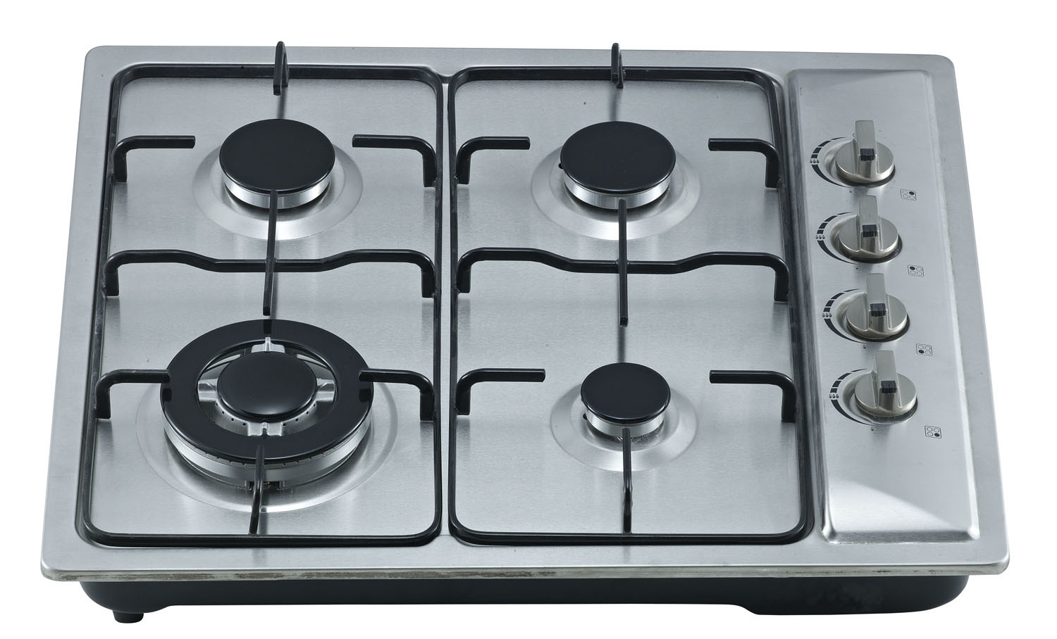 Build-in Gas Cooker Hob with Stainless Steel Top and Four Buners Sn-624