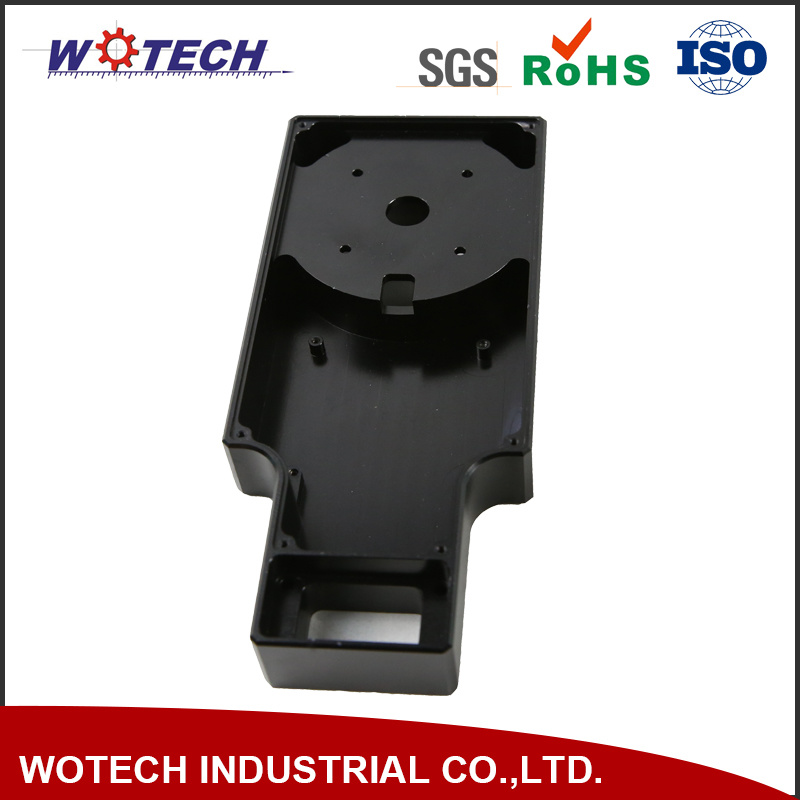 Aluminium Alloy CNC Machining with Black Anodizing