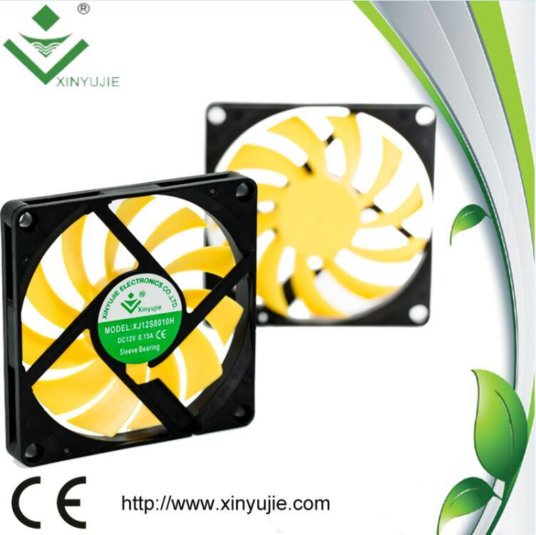 Xinyujie Fan 80mm High Rpm 12V Cooling Fan 80X80X10mm