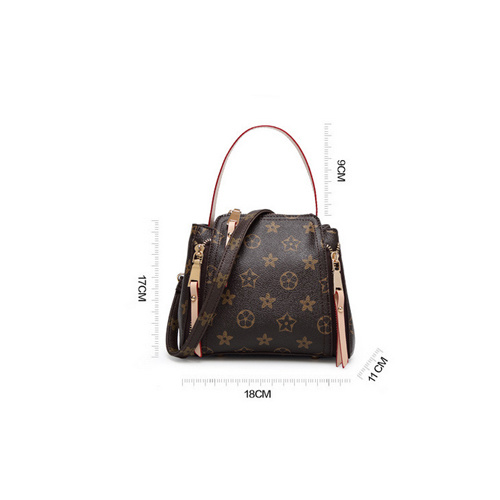 Europe Elegant Leather Bags Women Lady Handbag Factory in Guangzhou