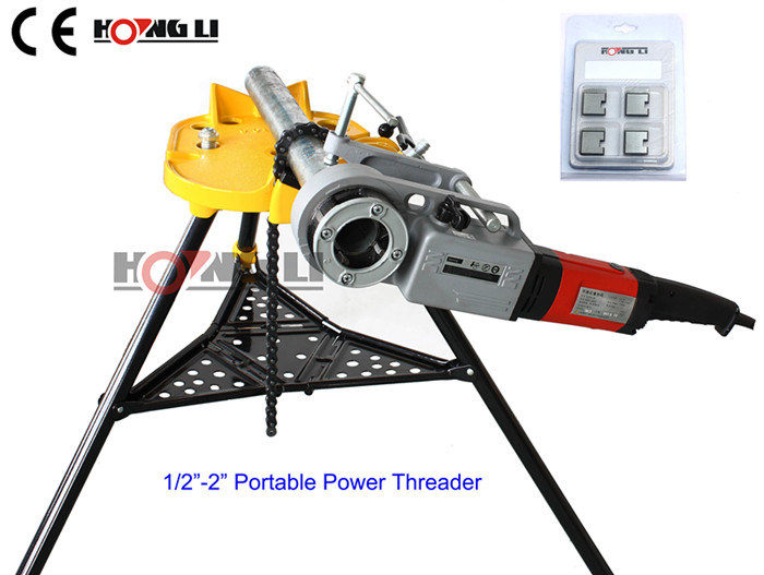 "1/2""-2"" Portable Electric Pipe Threader (SQ30-2B)"