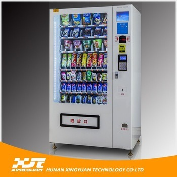Snacks&Drinks Automatic Vending Machine with CE and ISO9001 Certificate