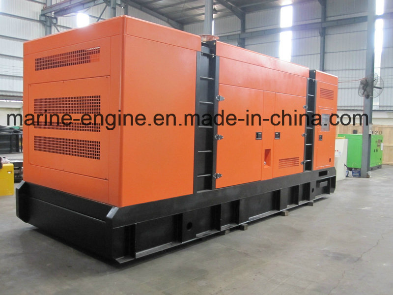 500kVA/400kw Silent Cummins Diesel Generator with Kta19-G4 Engine
