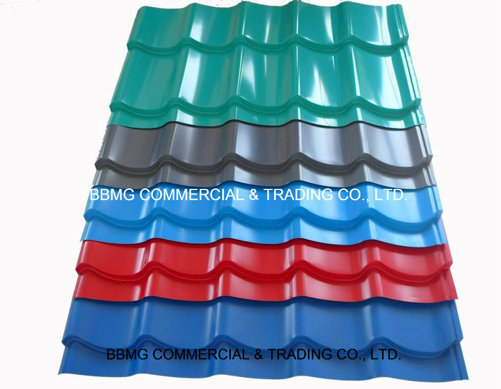 Roofing Color Coated Prepainted Galvanized Steel Coil Sheet Gi/PPGI