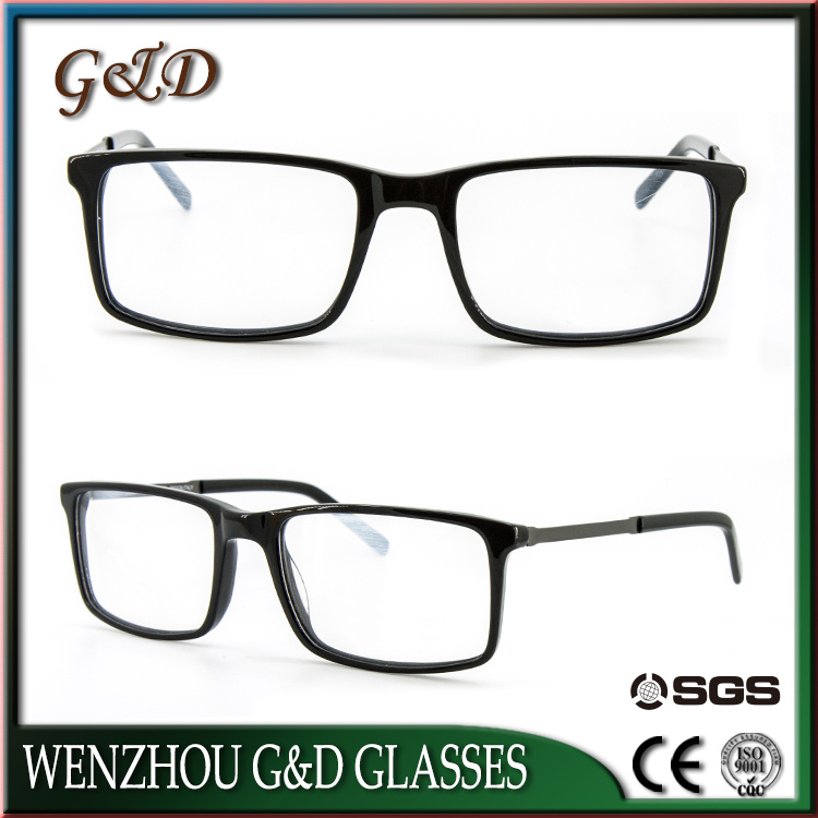 New Fashion Popular Acetate Spectacle Optical Frame Eyeglass Eyewear