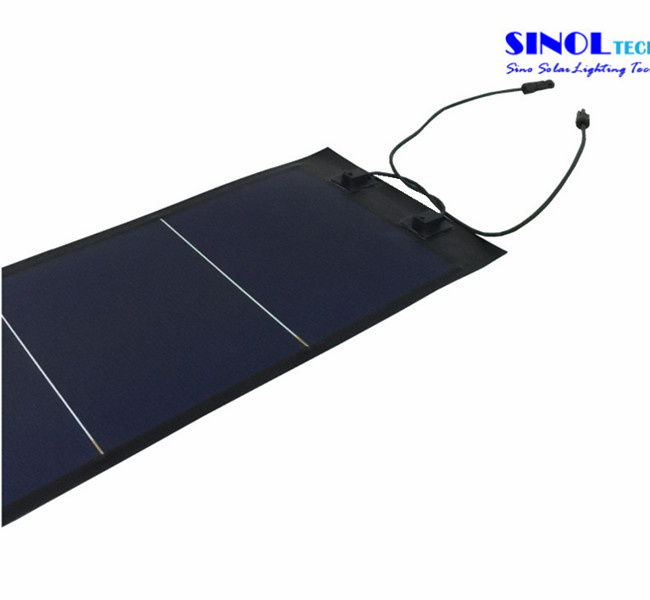 72 Watt Rolled-up Flexible Solar Panel with Ce