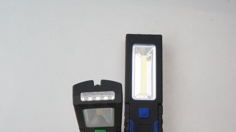 4.5V 4PCS+COB LED Camping Working Car Light
