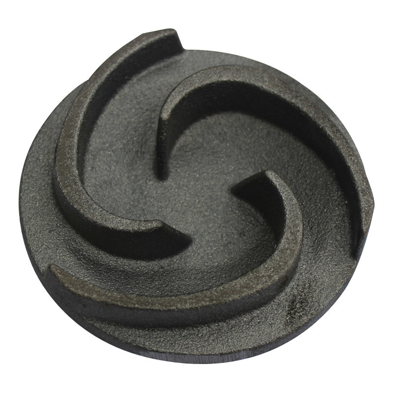 Chinese Manufacturer Customized Black Oxide Round Shape Casting Metal Parts