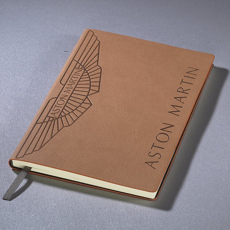 Stationery A5 Size Lined Diary Notebook with Logo for Sale
